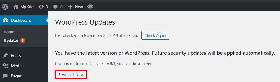 Fix WordPress Visual Editor By Reinstalling WordPress
