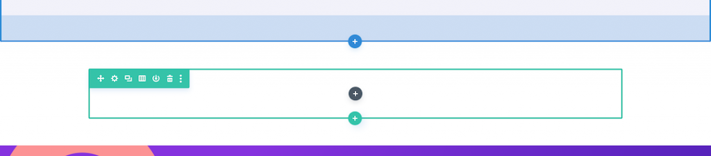 Section, rows, and modules in Divi