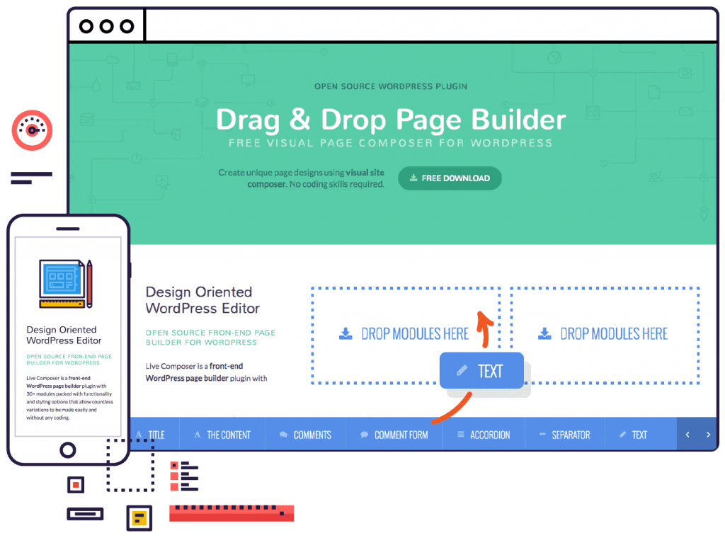Live Composer WordPress page builder