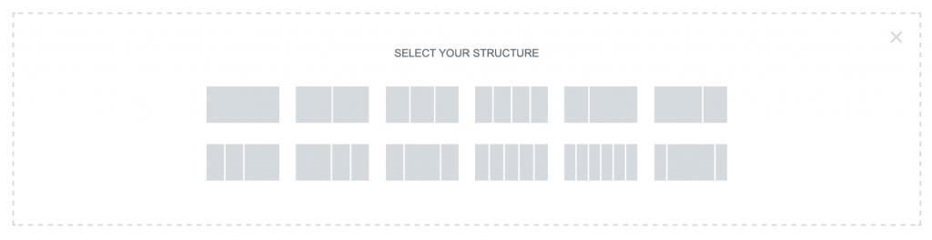 Elementor content structure