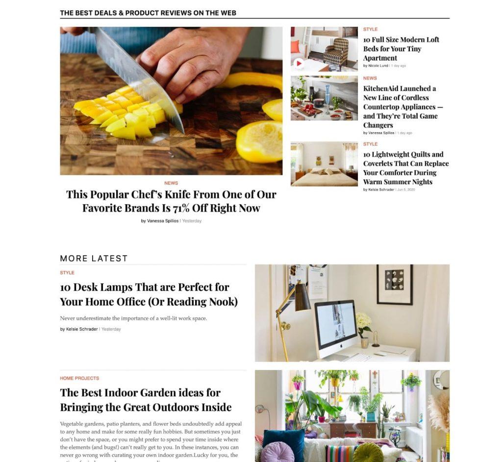 Apartment theory blog posts