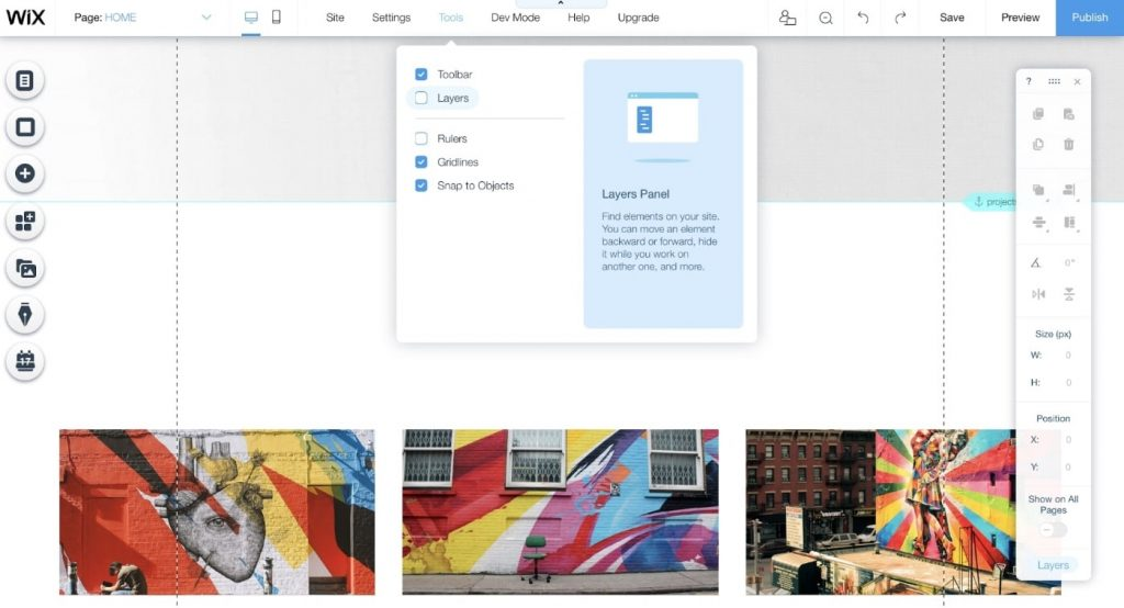 WIX editor to Build a Website From Scratch