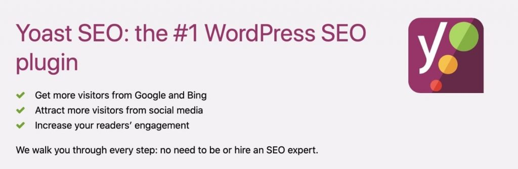 Yoast SEO for WordPress to build a website from scratch