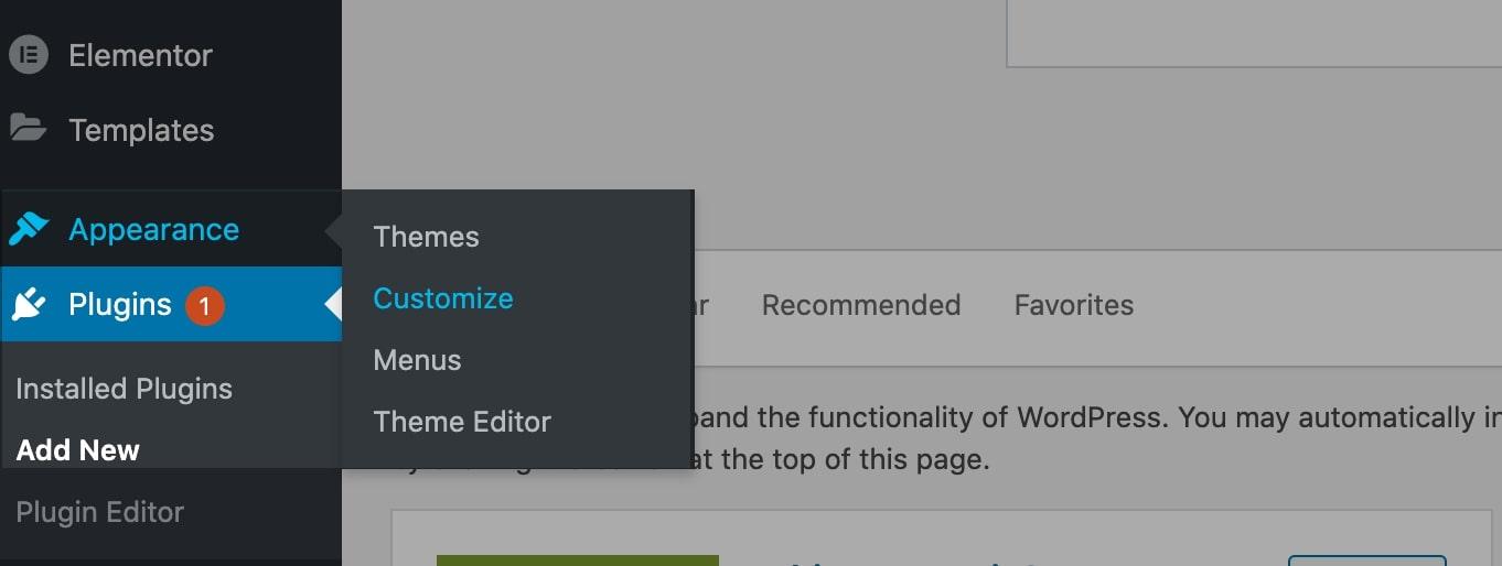 How to Edit WordPress site