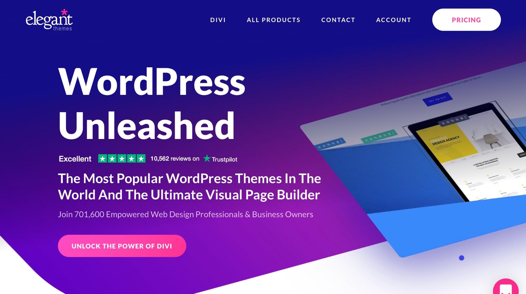 Divi vs Genesis Theme for WordPress