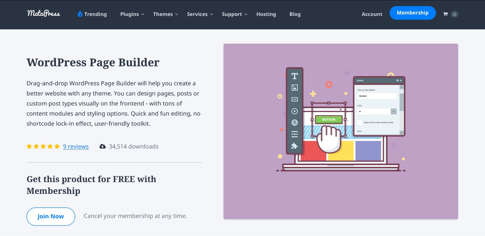 MotoPress Page Builder and Frontend Editor