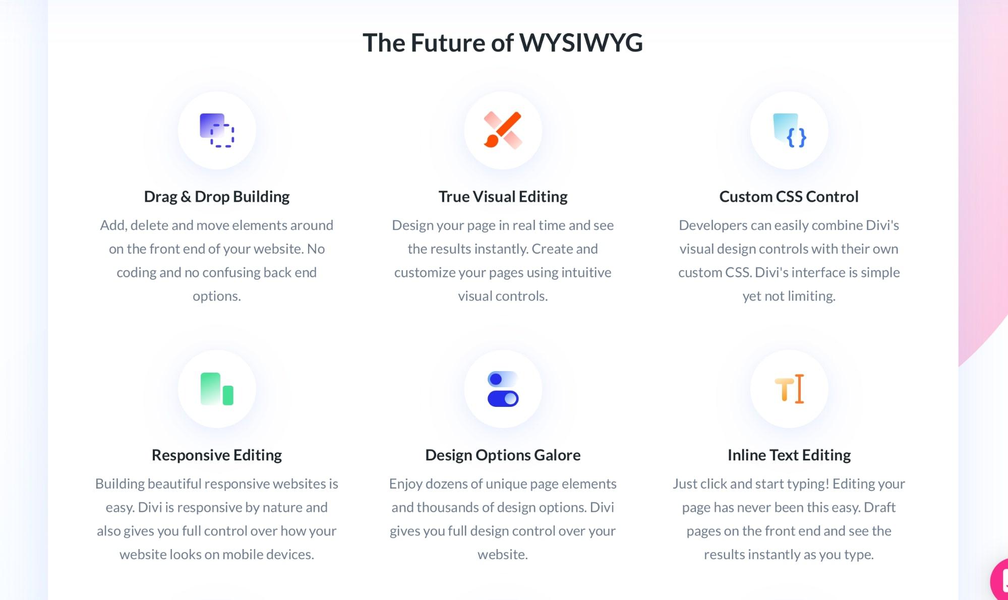 Divi vs Thrive visual builder