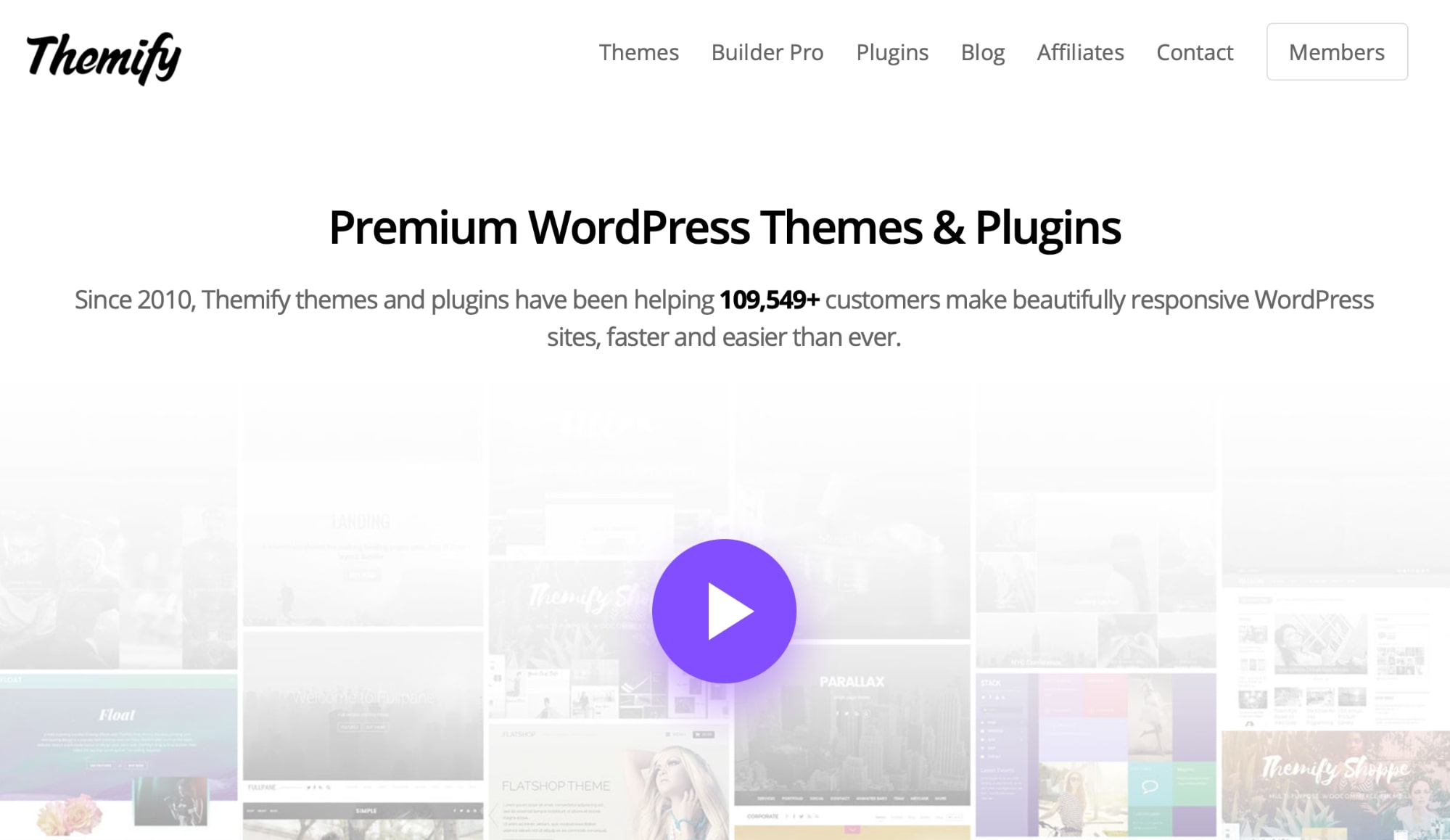 Themify Theme and Page Builder