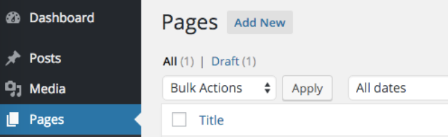 Manage your pages for your webcomic site