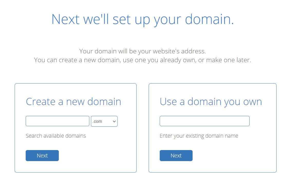 Set a domain to make a webcomic site