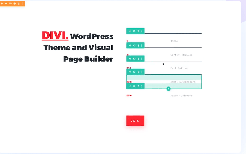 Divi WordPress theme and visual page builder
